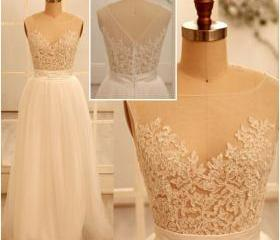 High quality of the decals ball gown PROM dresses in 2016 white gauze ball gowns, PROM dress lace tulle PROM dress, dress PROM 2016 bridesmaid dresses