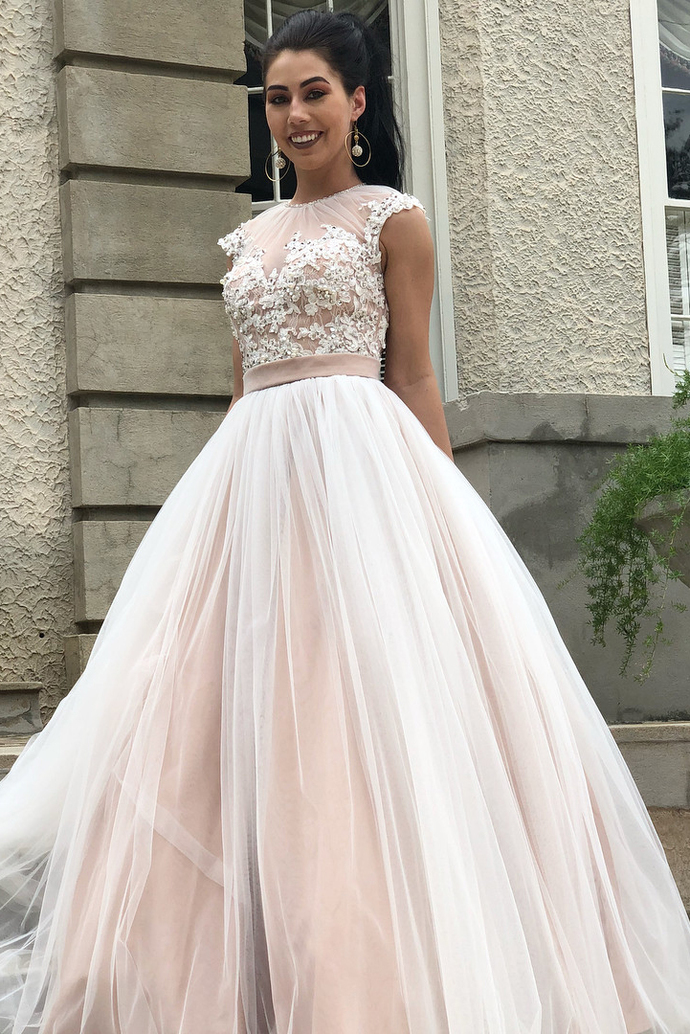Birthday Party Gown, Homecoming Dress Long, Back to Schoold Party Gown