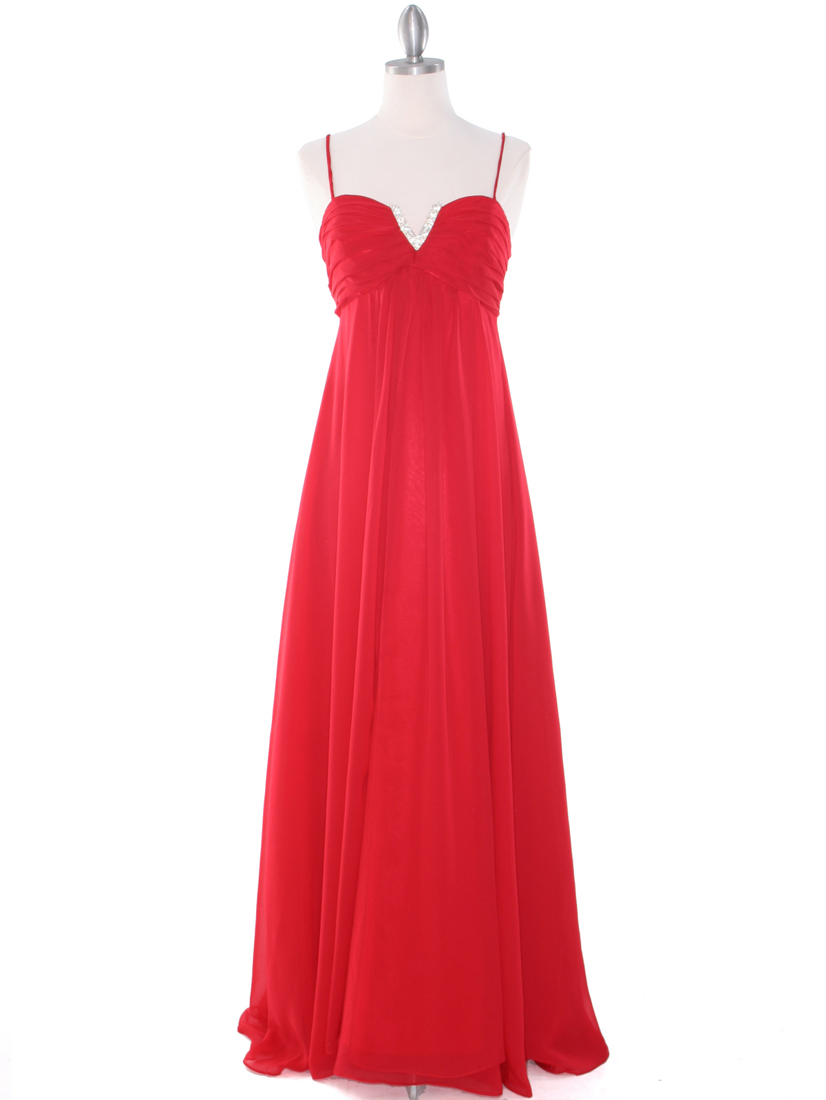 2015 new prom dresses and Evening Dress of Bridesmaid dresses Sexy fine strapless gown Empire Waist Chiffon Evening Dress