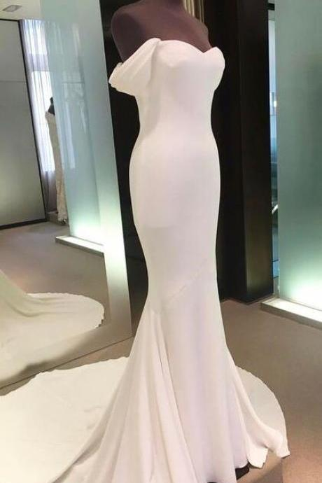 Wedding Dresses,Off The Shoulder Prom Dresses,White Prom Dresses,Mermaid Prom Dresses,Long Prom Dress,Prom Dress,Prom Dresses For Teens,Prom Gowns,Party Dresses