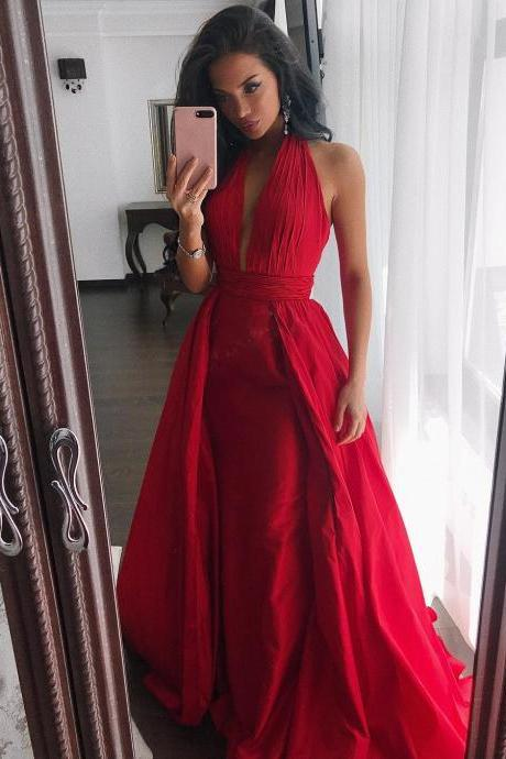 Charming Prom Dress, Sexy Prom Dress, Long Evening Dresses