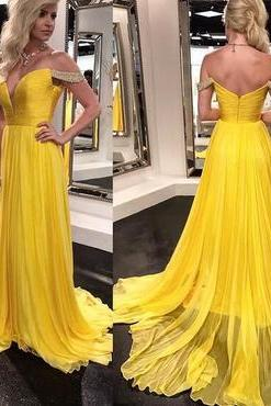 Charming Prom Dress, Chiffon Evening Dress, Sexy Prom Dress, Long Evening Dress, Formal Dress
