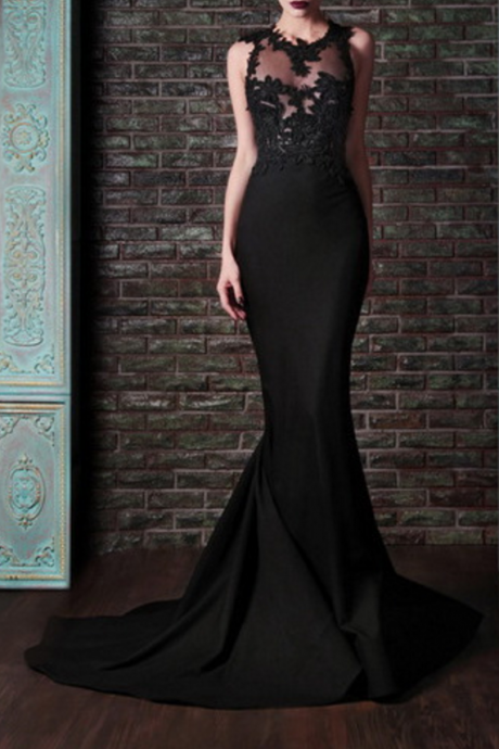 New to sleeveless ball gown, black cocktail dresses
