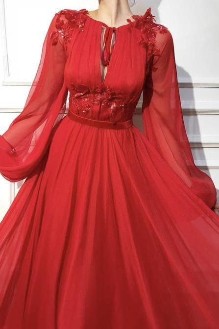 Red Candy Apple dress color Tulle dress fabrics