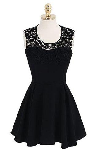 Short Chiffon Homecoming Dresses Lace Party Dresses