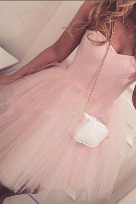Hot Sale Homecoming Dresses,Charming Homecoming Dresses,Lovely Prom Gows, Short Homecoming Dresses, Beaded Prom Dress,Tulle Formal Dress